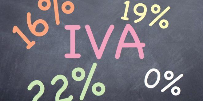 Valori dell'iva in percentuale